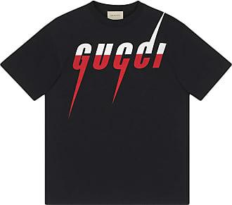 Gucci Camiseta com estampa Gucci Blade - Preto