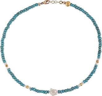Nialaya short seedbead necklace - Blue