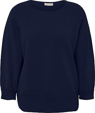 include Pullover aus 100% Kaschmir include blau