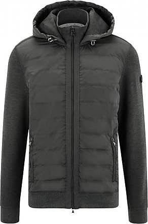 Bogner Maroon Hybrid jacket for Men - Anthracite
