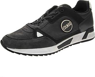 Colmar Travis Supreme Gray Shoes Men Leather Sneakers Laces Gray 45 751da512d49