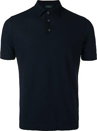 Zanone classic polo shirt - Black