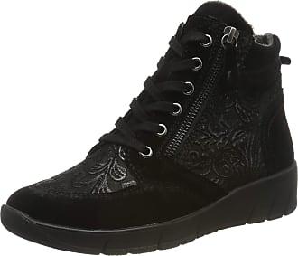 Jana Womens 8-8-25238-23 Ankle Boots, Black (Black Emboss 003), 6.5 UK