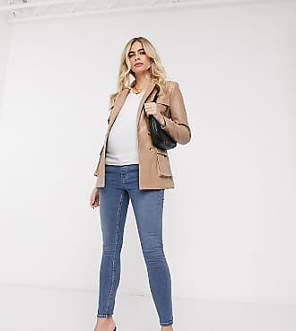 Asos Maternity ASOS DESIGN Maternity Ridley high waist skinny jeans in vintage midwash blue