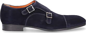 Santoni Flat Shoes Blue 14549