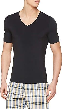 sloggi Mens Zero Feel V-Neck Vest, Black (Black 0004), X-Large (Size: 7)