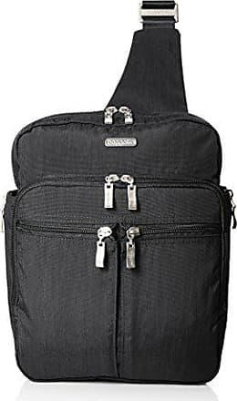 Baggallini Messenger Bagg with RFID, charcoal