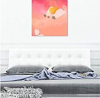 The Oliver Gal Artist Co. The Oliver Gal Artist Co. Abstract Wall Art Canvas Prints Puesta de Sol Home Décor 36 x 36 Pink, Orange