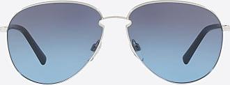 Valentino Valentino Occhiali Occhiale Da Sole Pilot In Metallo Uomo Blu Metallo 100% OneSize
