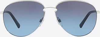 Valentino Valentino Occhiali Aviator Frame Metal Sunglasses Man Blue Metal 100% OneSize