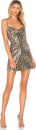 X by NBD Cindy Dress in Metallic Silver
