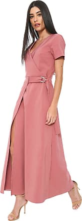 Enna Vestido Enna Longo Adereço Rosa