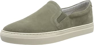 Vagabond Mens Paul Slip On Trainers, (Light Olive 50), 9 UK