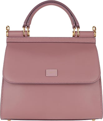 Dolce & Gabbana Satchel Bags - Sicily Small Satchel Bag Rosa Polvere - rose - Satchel Bags for ladies