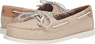 Sperry Top-Sider Authentic Original Venice Linen (Natural) Womens Shoes