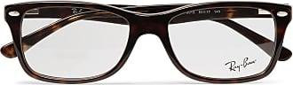 Ray-Ban Square-frame Tortoiseshell Acetate Optical Glasses - Brown