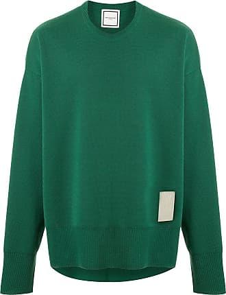 Wooyoungmi Suéter com patch de logo - Verde