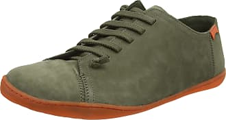 Camper Mens Peu Cami Low-Top Sneakers, Green (Dark Green 300), 7 UK