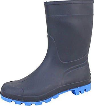 d28387ee3bf260 Bockstiegel Herren Gummistiefel Gr. 41-45 Regenstiefel Stiefel Stiefelette  blau (45)