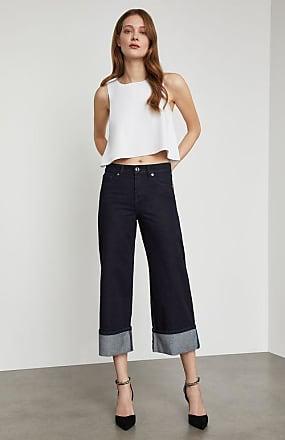BCBGeneration Cropped Wide Leg Jean