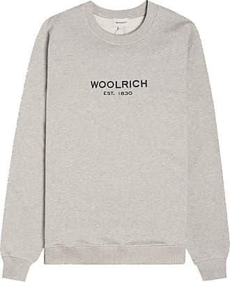 Woolrich Luxury Light Sweatshirt mit Rundhalsausschnitt Grau Melange - M