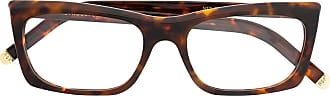 Retro Superfuture Fred rectangular frame glasses - Brown