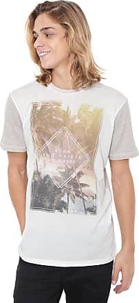 Hawaiian Dreams Camiseta HD Estampada Bege