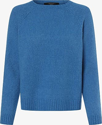 Max Mara Damen Pullover mit Alpaka-Anteil - Amici blau