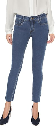 Enna Calça Jeans Enna Skinny Desfiada Azul