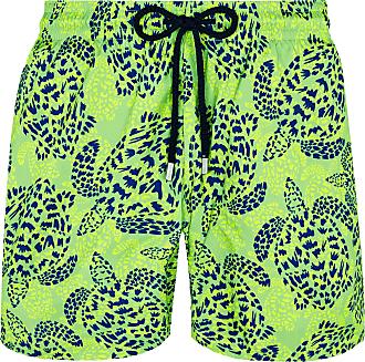 Vilebrequin Vilebrequin Mahina Swim Kurze Dschungelschildkröten Hierba Verde - medium