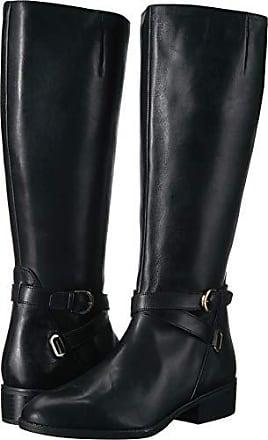 91fe2e9550f7 Ralph Lauren Lauren Ralph Lauren Womens MARIBELLA Fashion Boot Black 5.5 B  US