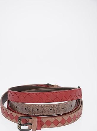 Bottega Veneta 20 mm Leather Braided Belt size Unica