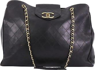 13fb7448d83f Chanel Vintage Supermodel Weekender Bag Quilted Leather Large