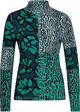 Sportalm Bedrucktes Langarmshirt im Allover-Print und hohem Kragen Größe:34