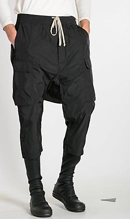 Rick Owens DRAWSTRING CROPPED CARGOS Pants size 50
