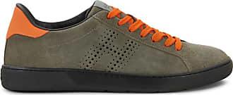 Hogan Sneakers H327, ORANGE,GRÜN, 11.5 - Schuhe