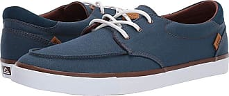7361c8fd0e8c Reef Deckhand 3 (Navy White) Mens Lace up casual Shoes