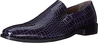 Stacy Adams Stacy Adams Mens Galindo Slip-On Loafer, Blue, 10.5 M US