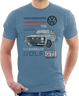 Volkswagen GTI Legend Mens T-Shirt Indigo Blue
