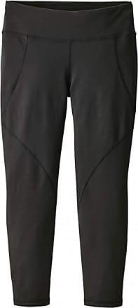 Patagonia Centered Crops Yoga 3/4-Hose für Damen | schwarz