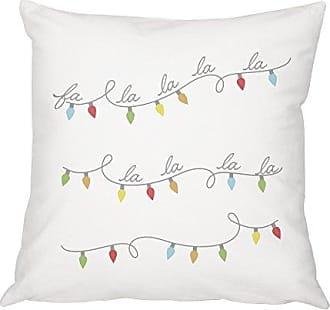 Cathy's Concepts FA La Throw Pillow 16 White