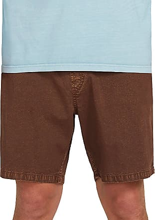 Volcom Steppen EW 17 Shorts vintage brown