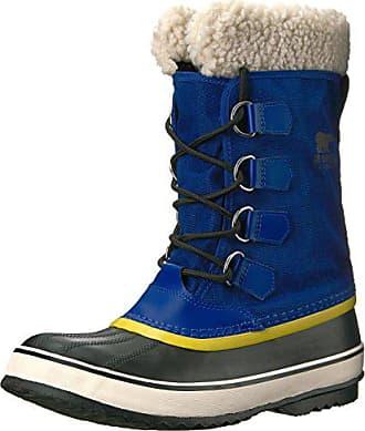 9526c0175fc446 Sorel Winter Carnival Damen Schneestiefel Blau (Aviation black)