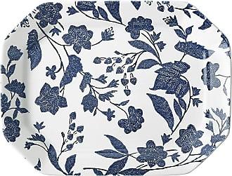Ralph Lauren Home Garden Vine Serving Platter - Indigo