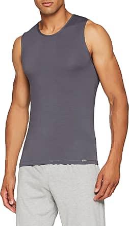 sloggi Mens Basic Soft Sh 02 Tank Vest, Grey, Medium