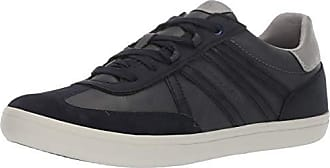 Geox Mens HALVER 4 LACE UP Sneaker, Navy 44 Medium EU (11 US)