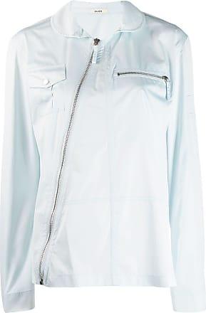 Zilver Camisa com zíper diagonal - Azul