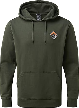 RAB Mens Journey Pull-On Hoody - Army, Small