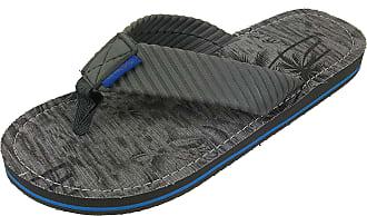 05972f52cd58ed Panama Jack Mens Casual Sandal Flip Flops Grey Size  X-Large   12-