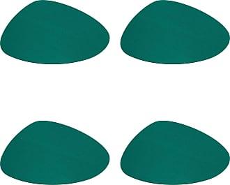 Hey-Sign Stone Tischset 4er Set 44x38cm - jade/Filz in 5mm Stärke/LxBxH 44x38x0.5cm